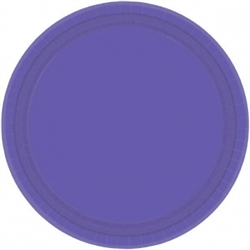 "New Purple 10-1/2"" Paper Plates - 20ct 
