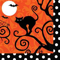 Frightfully Fancy Beverage Napkins | Party Supplies