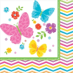 Celebrate Spring Beverage Napkins | Party Supplies