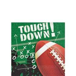 Football Frenzy Beverage Napkins | Party Supplies