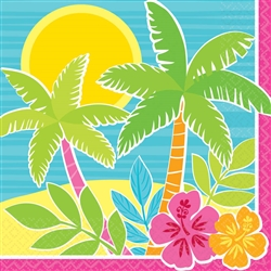 Summer Scene Luncheon Napkins | Party Supplies