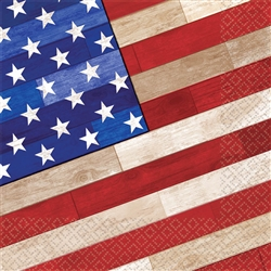 Old Glory Luncheon Napkins | Party Supplies