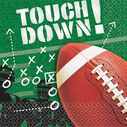 Football Frenzy Luncheon Napkins | Party Supplies