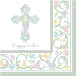 Blessed Day Luncheon Napkins | Party Supplies