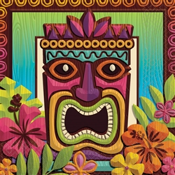 Tropical Tiki Luncheon Napkins | Party Supplies