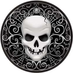 Fright Night Round Plates, 10-1/2"