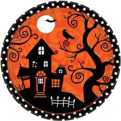 Frightfully Fancy Round Plates, 10-1/2"