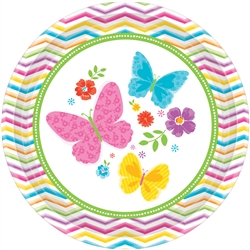 "Celebrate Spring 10-1/2"" Round Plates 