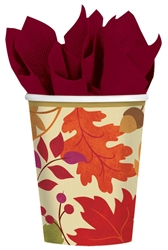 Festive Falls 9 oz. Cups | Party Supplies