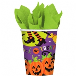 Witch's Crew 9 oz. Cups | Party Supplies