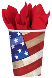 Old Glory 9 oz. Cups | Party Supplies
