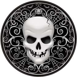 Fright Night Round Plates, 7"