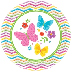"Celebrate Spring 7"" Round Plates 