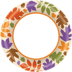 "Autumn Warmth 8-1/2"" Plates 