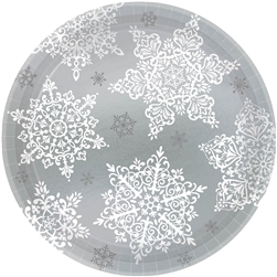 "Shining Season 7"" Round Paper Plates 