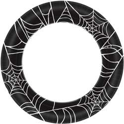 Spider Web Plates, 8-1/2"