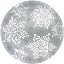 "Shining Season 9"" Round Paper Plates 