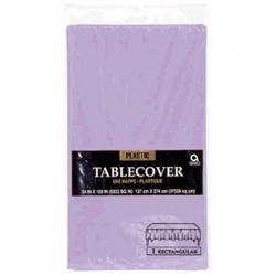 Lavender Plastic Table Covers | Party Supplies