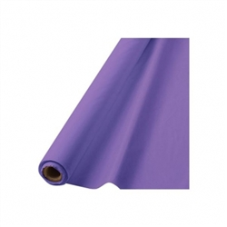 "New Purple 40"" x 100' Plastic Table Roll 