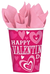 Valentine Party 9 oz. Cups | Valentine's Party Supplies