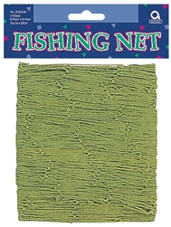 Green Decorative Fish Net | Luau Party Supplies