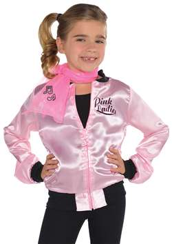 Pink Ladies Jacket - Child | Party Supplies