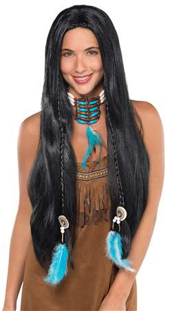 Native American Wig | Party Supplies