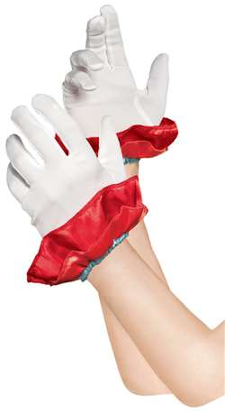 Clown Gloves - Girl | Party Supplies