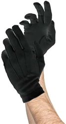 Men's Deluxe Gloves - Black | Party Supplies