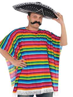 Mexican Serape Ole Costume | Party Supplies