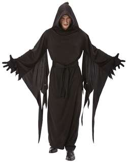 Adult Terror Robe - Black | Party Supplies