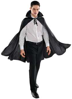 Adult Cape - Black | Party Supplies