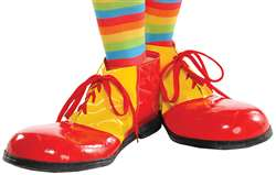 Clown Shoes - Red/Yellow | Party Supplies