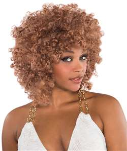 Runway Fro Wig - Caramel | Party Supplies