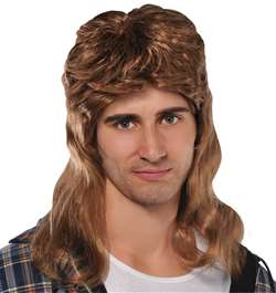 Mullet Heat Wig | Party Supplies