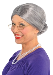 Old Lady Wig | Party Supplies