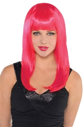 Pink Electra Wig | Party Supplies