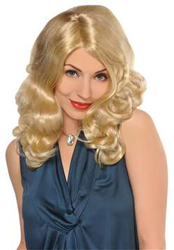 Envy Wig - Blonde w/Highlights | Party Supplies