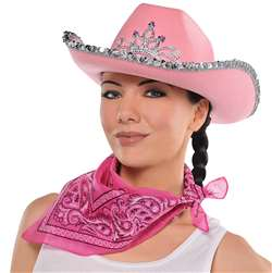 Cowgirl Bandana - Pink | Party Supplies