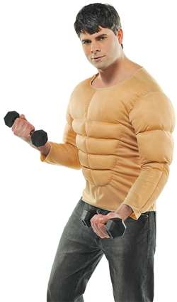 Adult Muscle Shirt | Party Supplies