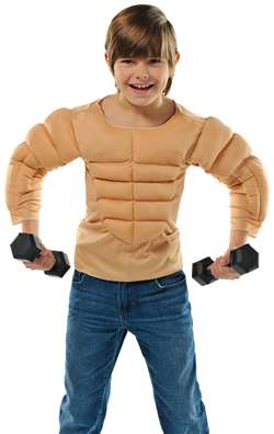Kid Muscle Shirt | Party Supplies