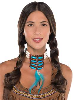 Native American Deluxe Necklace | Party Supplies