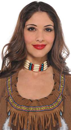 Native American Choker Necklace | Party Supplies