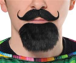 Fiesta Facial Hair Set | Party Supplies