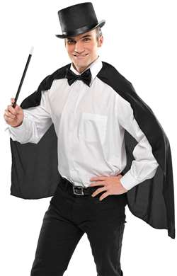 Adult Standard Cape - Black | Party Supplies