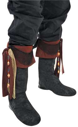 Men's - Pirate Boot Toppers | Party Supplies