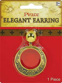 Elegant Pirate Earring | Party Supplies