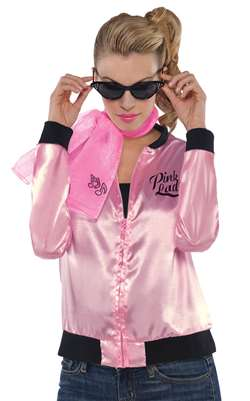 Pink Ladies Jacket - Adult | Party Supplies