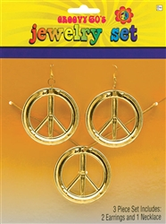 Peace Sign Jewelry Set | Party Supplies
