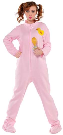 Pink Jammies Adult | Party Supplies